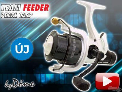 Bemutatom az új By Döme TEAM FEEDER Pearl Carp LCS orsókat