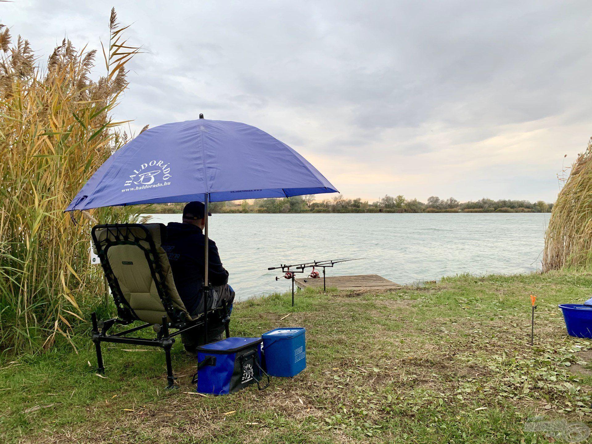 A tesztelés talán legkülönlegesebb helyszíne a Csaba-tó volt