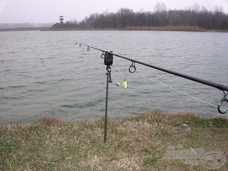 Nem minden esetben van szükségünk rod podra, egy rövid horgászat során a menetes szár is jó szolgálatot tehet