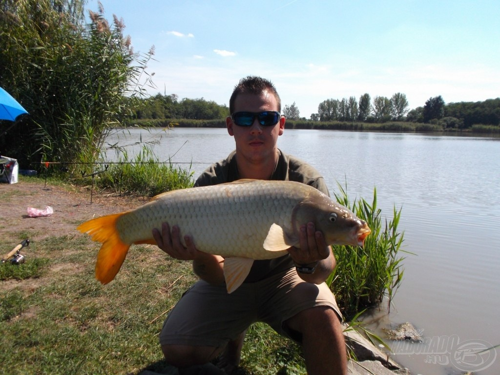 Ilyen halak élnek ebben a tóban: ez itt 7,72 kg