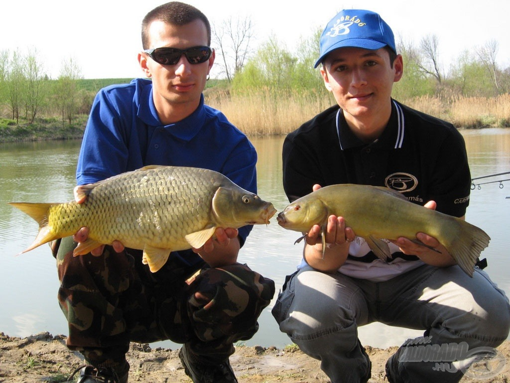 A horgászat két legmeghatározóbb halfaja. Nagyon jót horgásztunk…