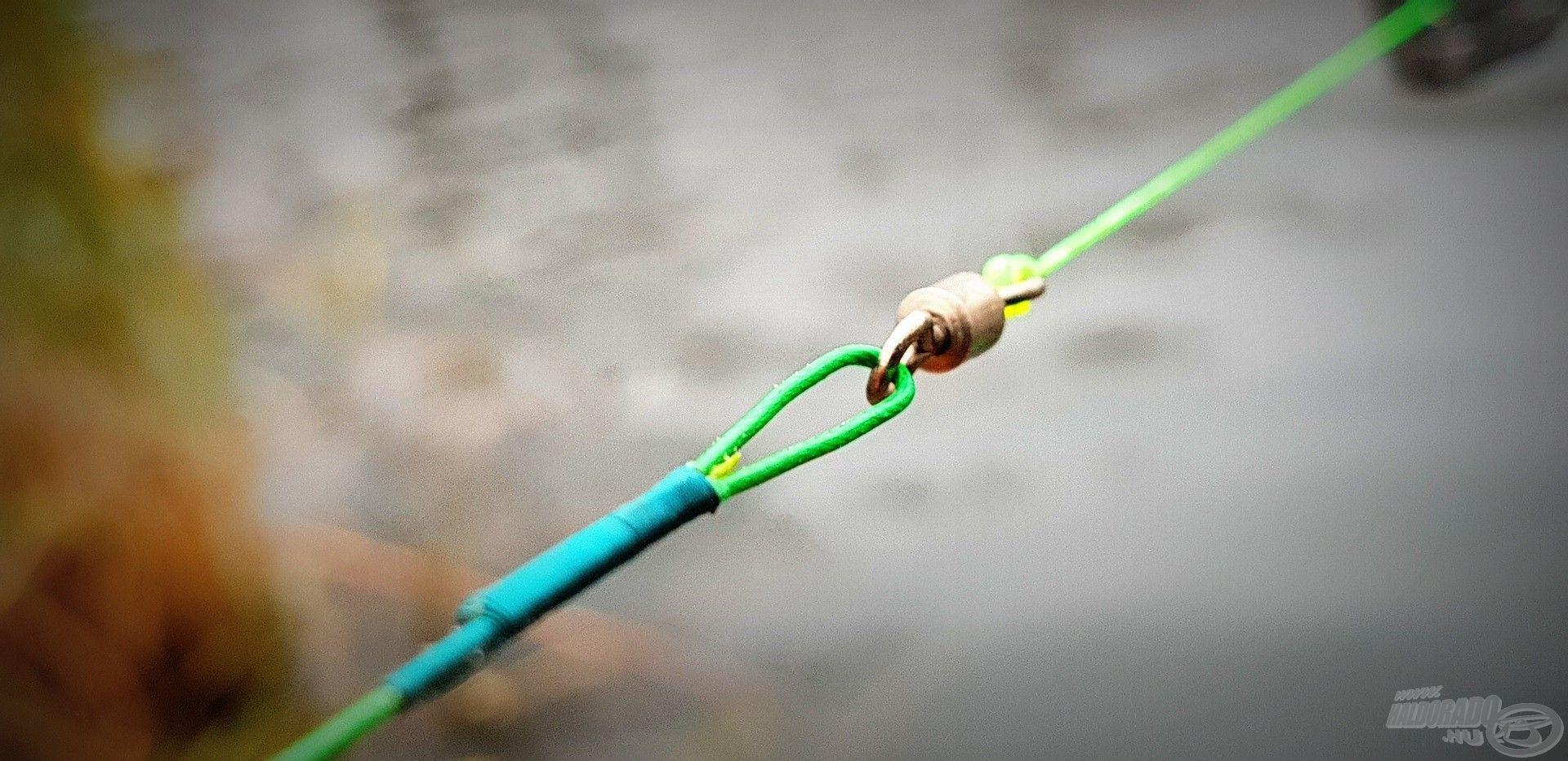 Ha célzottan csukára horgászom, a drótelőke elengedhetetlen