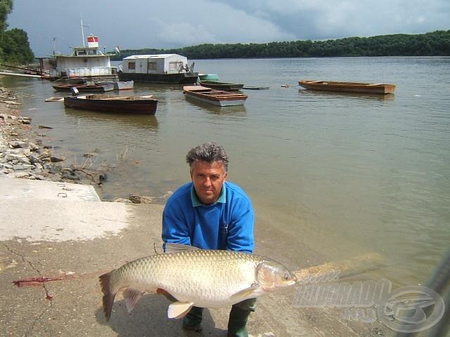 Az amur hivatalos súlya 25.860 gramm, ez egyben eddigi rekordom