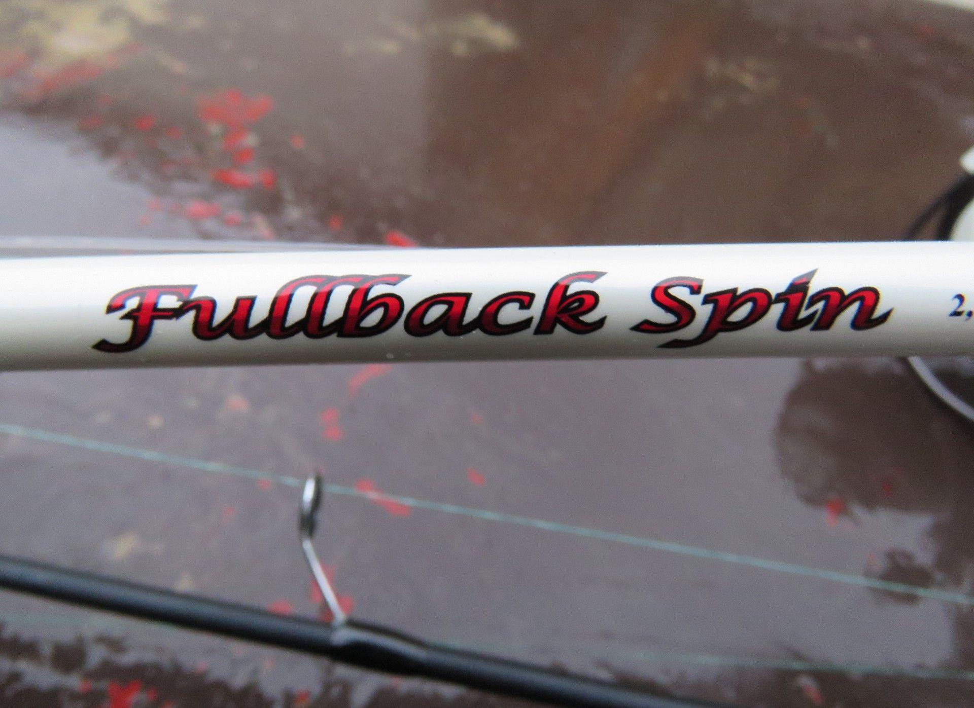 Ezúttal is a Nevis Fullback Spin botokkal készültem