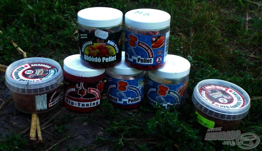 Előszeretettel használom a Haldorádó termékeket, különösen a Hybrid pelleteket