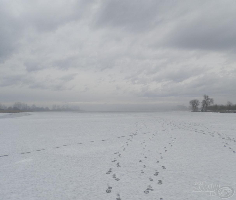 Morcos téli idő a morotván