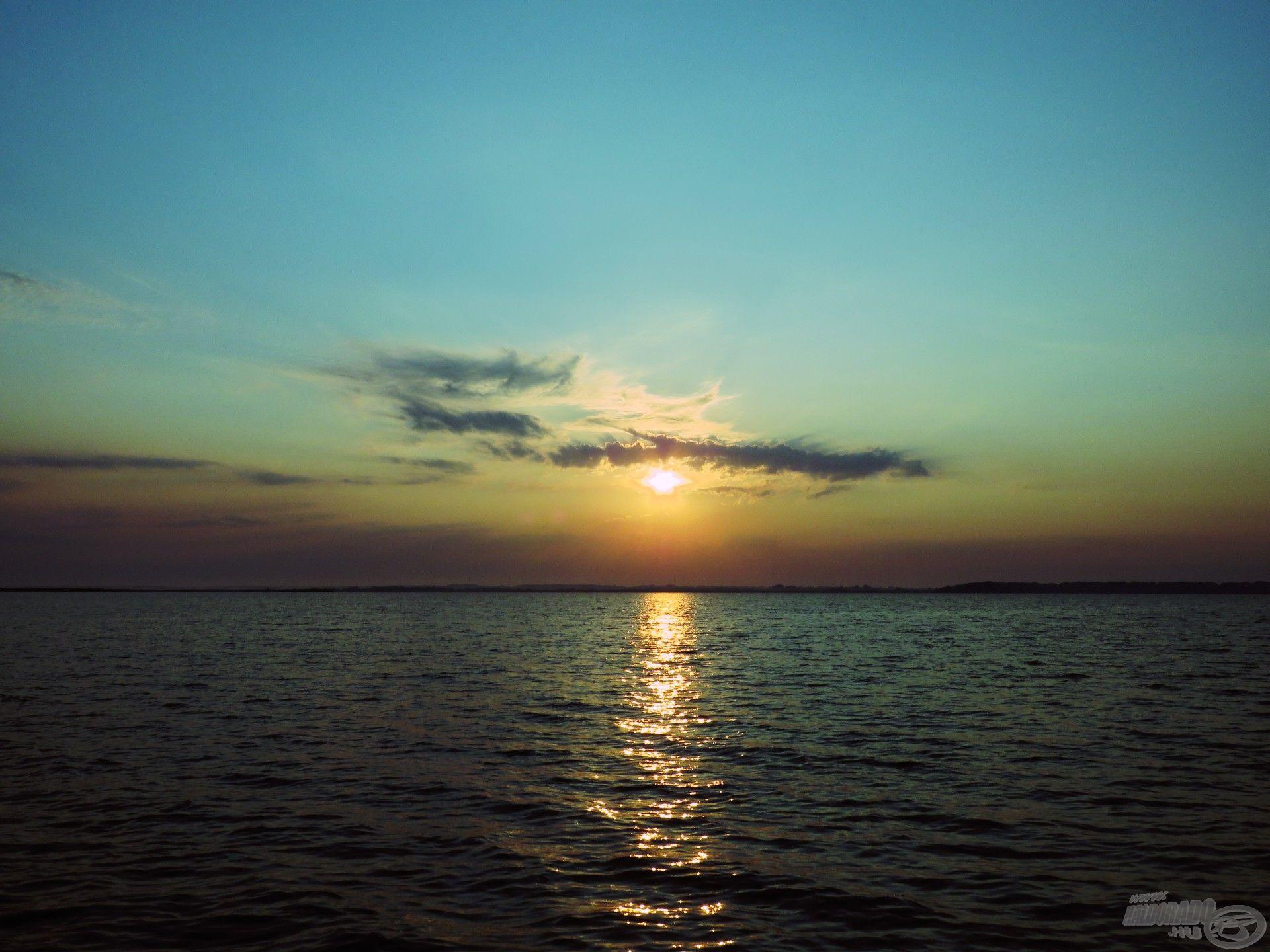 És ilyen a napkelte