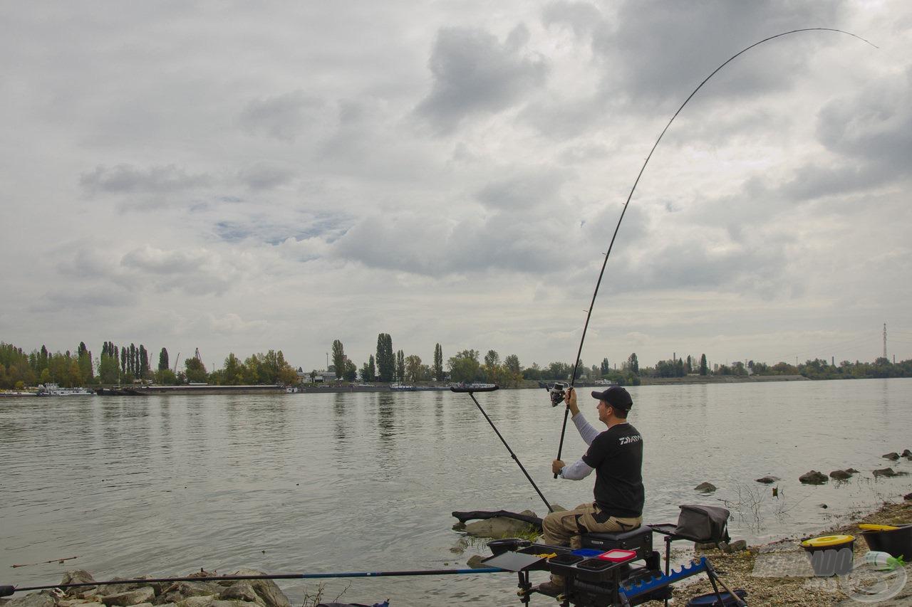 Végre elkezdődhet a horgászat