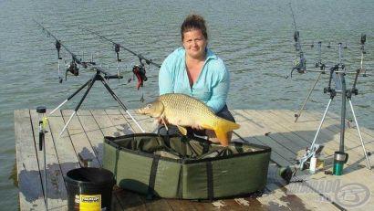 Egy nő a halak birodalmában - Vadkan-tavi horgásztúra