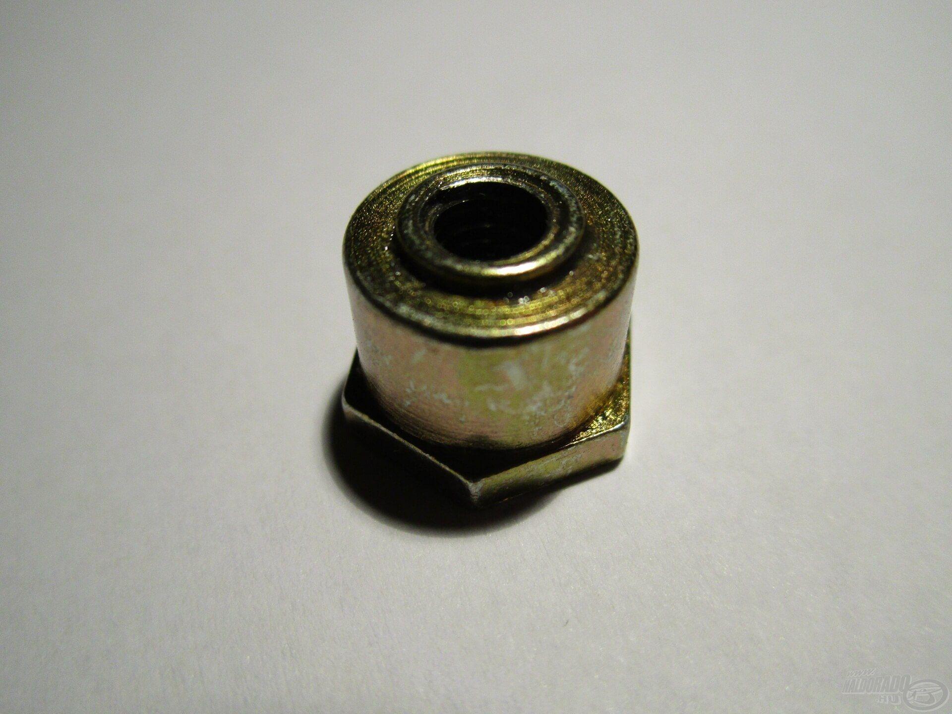 A Pro Method orsó fékcsillagjában nincs rugó, csak egy tömör fém alkatrész