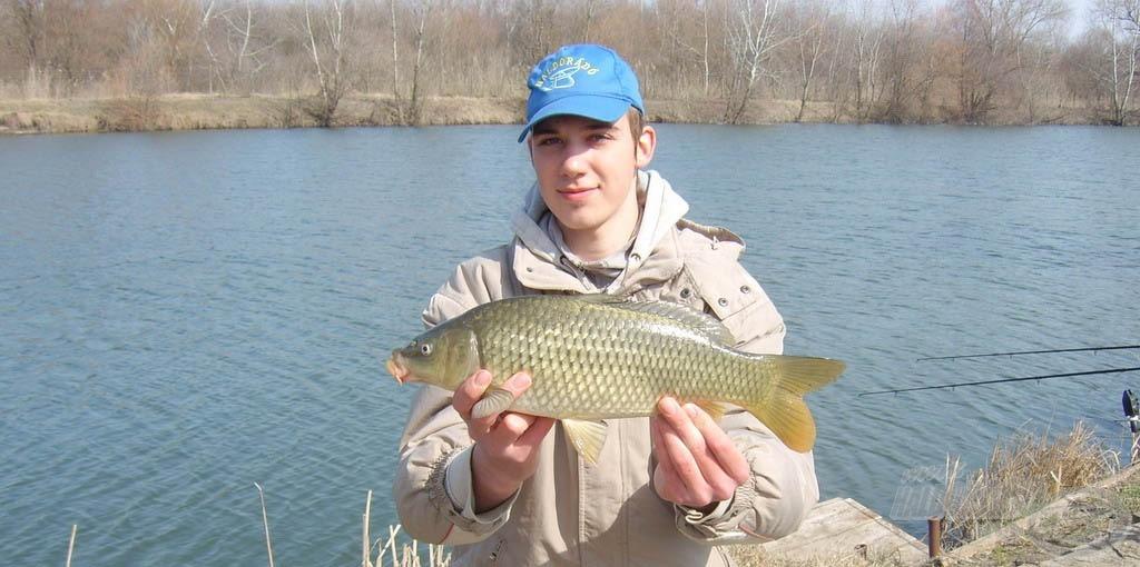 A halfogás nyújtotta öröm sokszor nem a fogott halak méretével arányos! :)