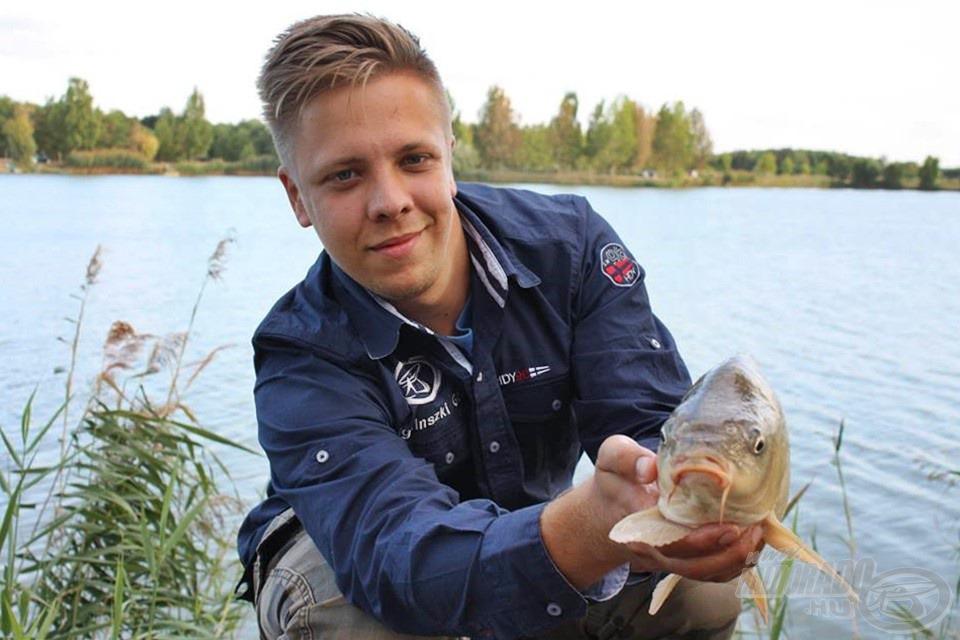 A halak mérete jellemzően 1,20-1,70 kg között mozgott. Ki a kicsit nem becsüli…