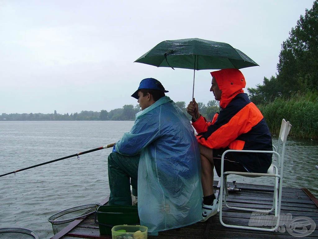 Az eső nem tántorított el minket