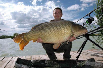 Egyszer eljön az a nap, amikor kezedben tarthatod azt a halat, amelyre mindig vágytál!