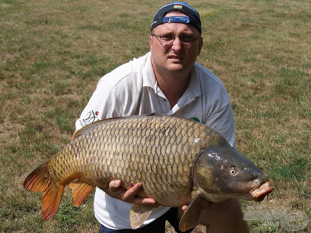 Életem hala: 17,82 kg-os ponty, finom szerelékkel