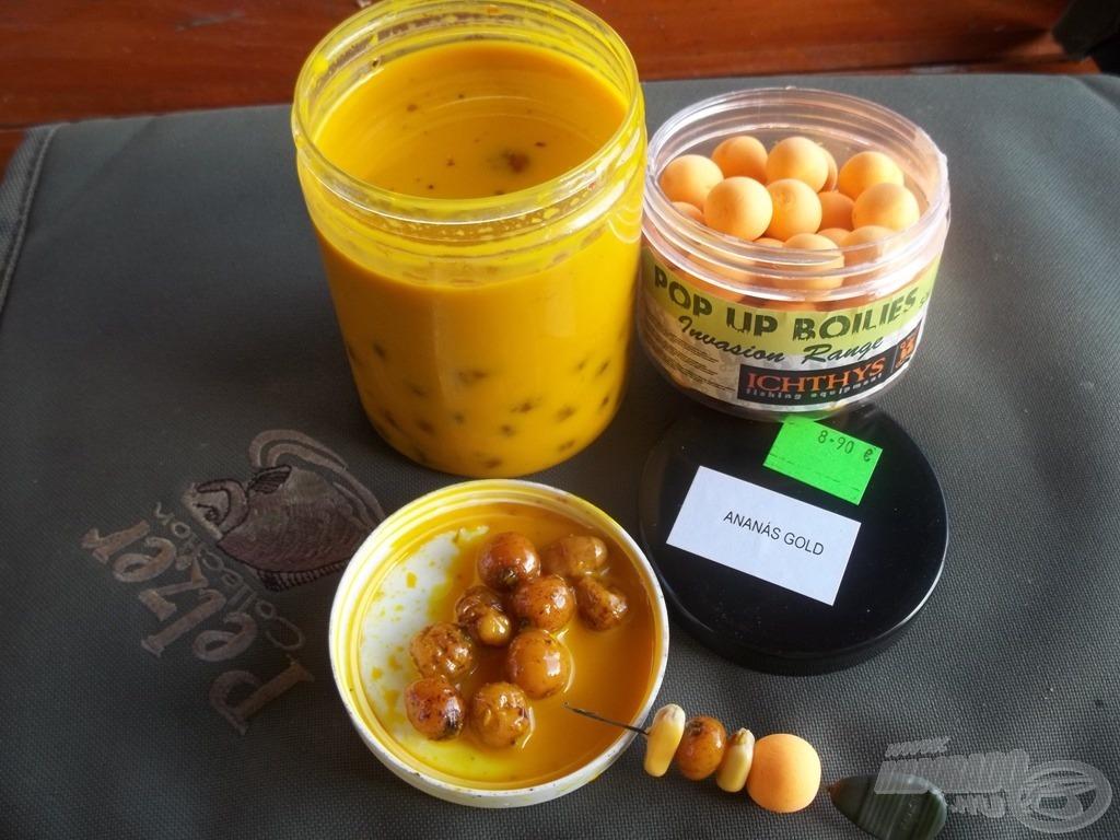Ananászos csemege