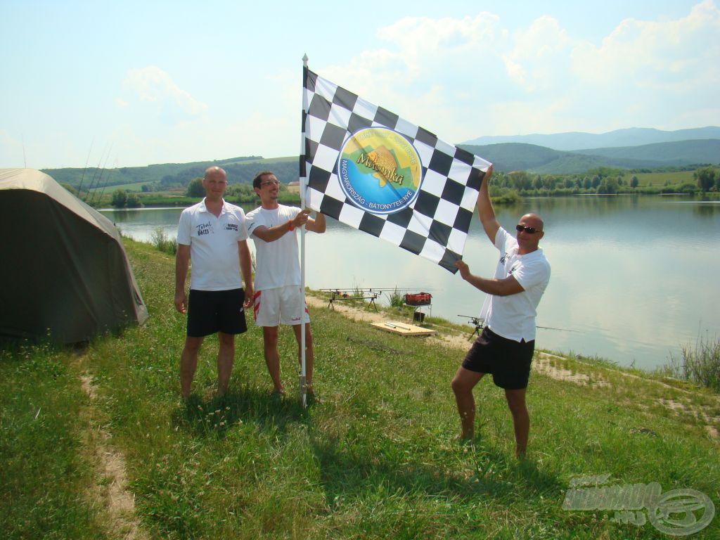 A Borisznál az első nagyhalas kockás zászló!