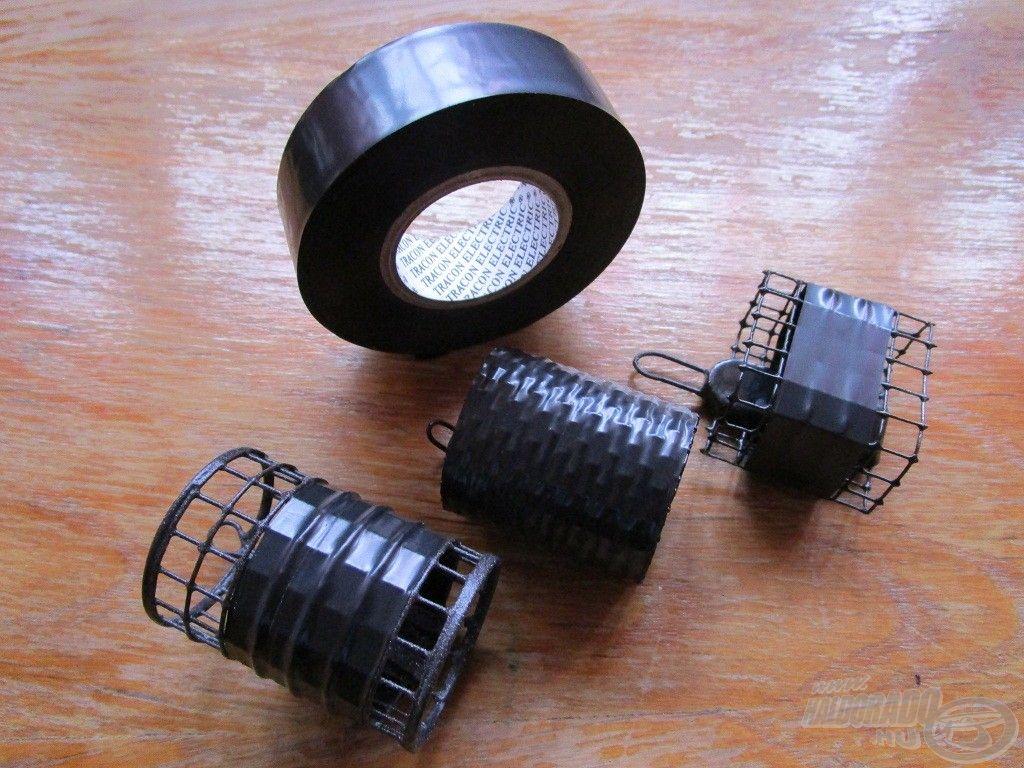 Szigetelőszalag szinte minden drótos kosárnál alkalmazható, legyen az kerek vagy szögletes