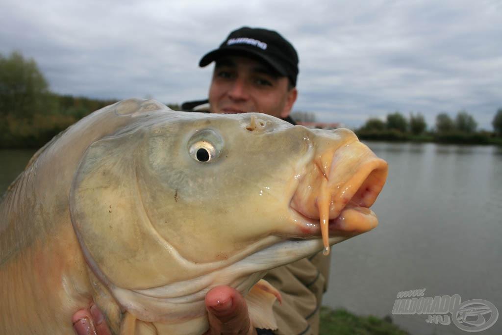 Mindenkinek hasonlóan szép halakat kívánok!