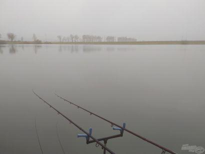 Fagyos pontyok az Öntöző horgásztavon