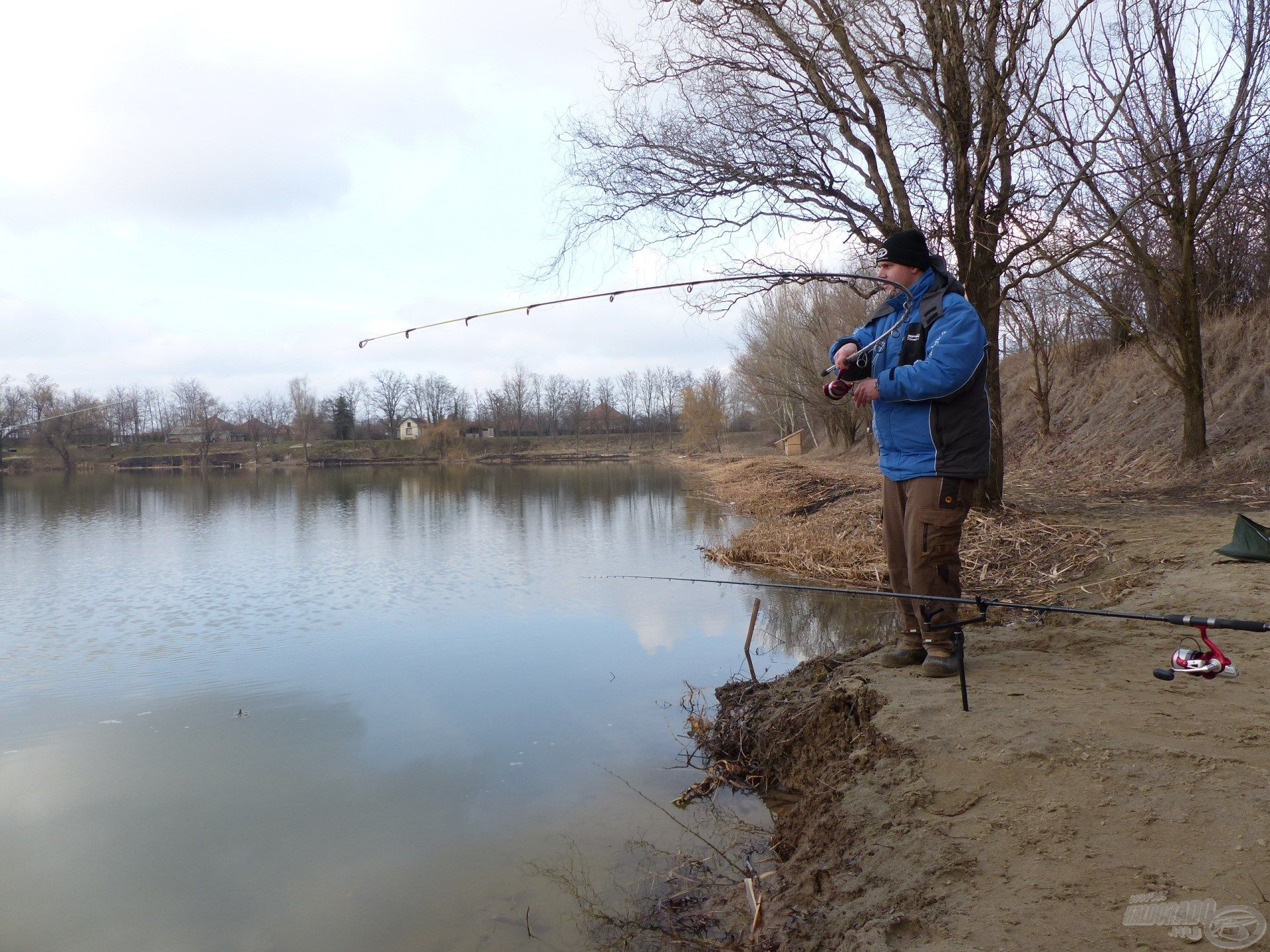 Ezen a napon is ki kellett ülni a halat, de megérte!