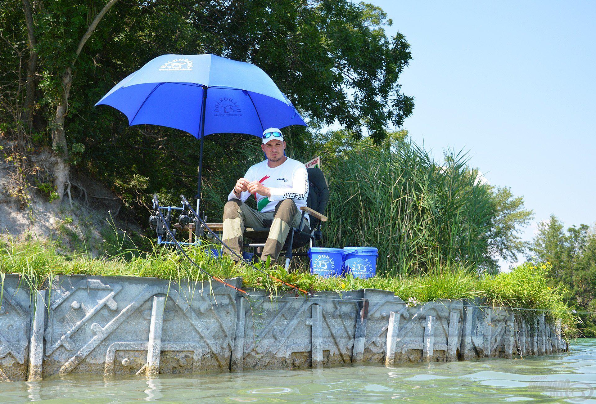Végre, újra ezen a csodás vízen horgászhattam, imádom az ilyen nyári túrákat!