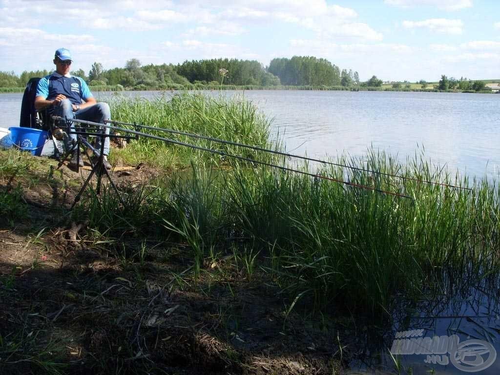 Végre kezdődhet a horgászat!