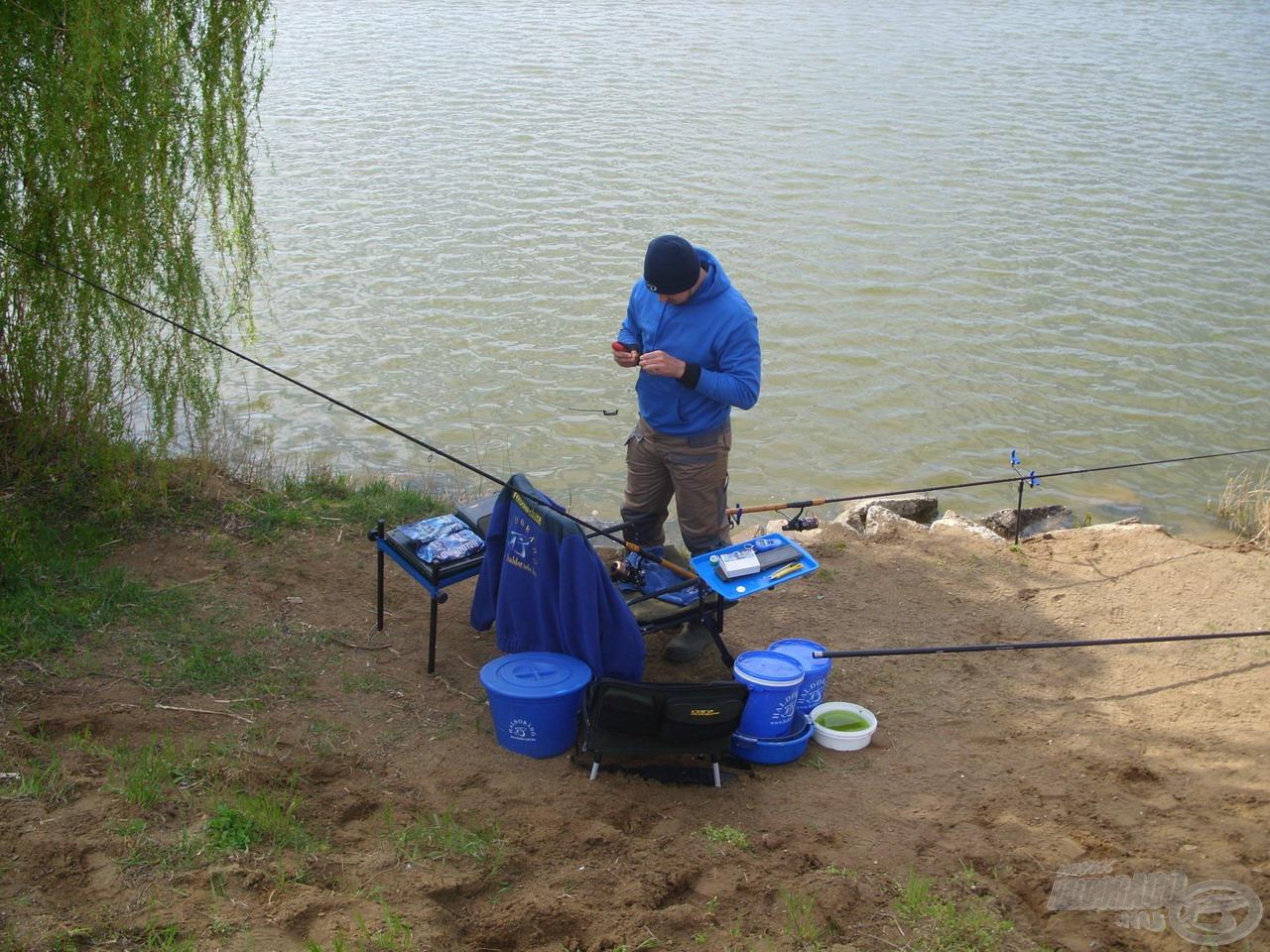 A halak szelektálása érdekében változtatnom kellett taktikámon…