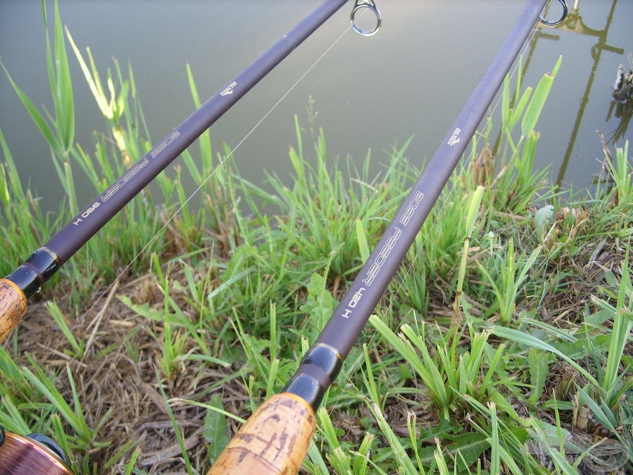 E horgászaton Nevis Boss Feeder párosomat használtam
