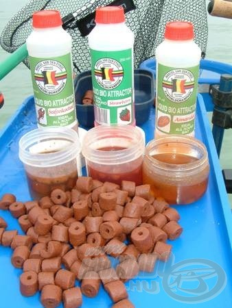 A pellet granulátumnak és a csábító aromáknak még a balatoni halak sem tudtak ellenállni
