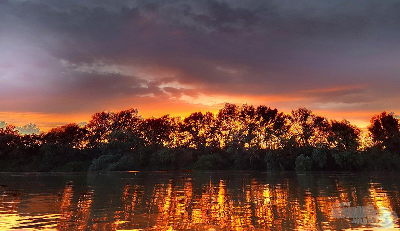 Az ilyen képekért is szeretem ezt a folyót