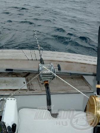 A cápa horgászattal is megpróbálkoztunk.