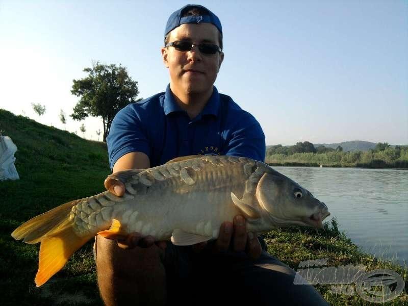 Következő halam 2 kg-os volt