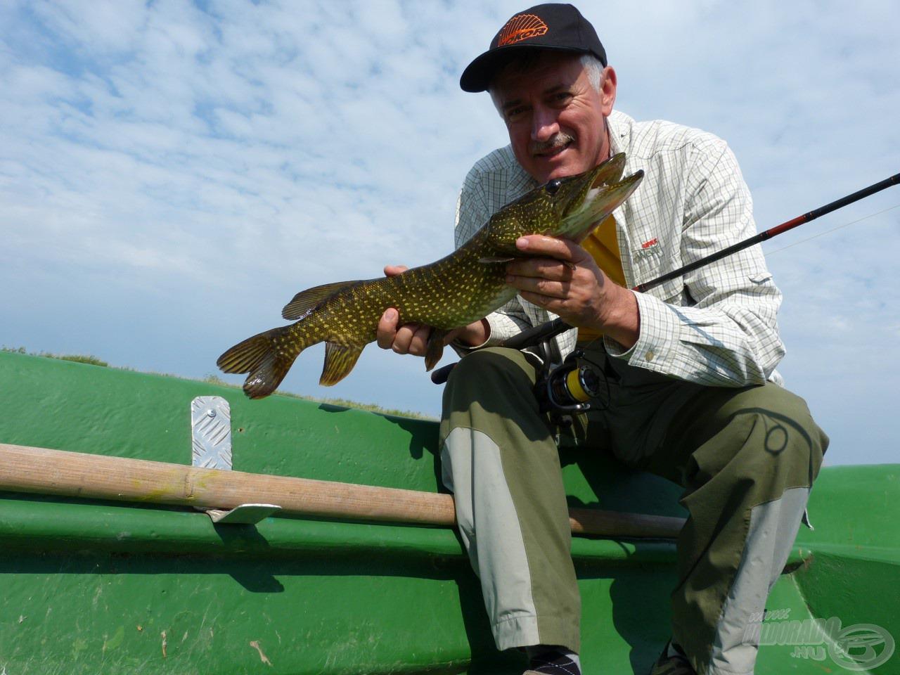 Nagyszerű tesztpályán, a Duna-deltában horgásztam a Bokor Spin pergető felszereléssel…