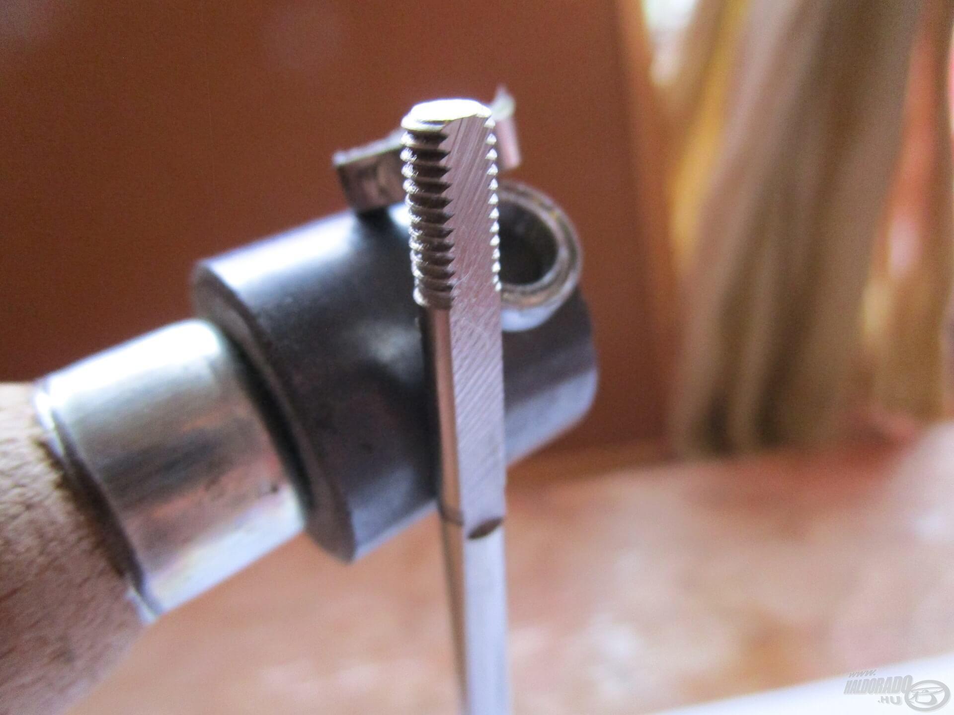 """A """"mágnes-teszt"""" bizonyítja, hogy a tengely és a csapágyak is minőségi acélból vannak!"""