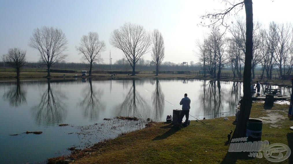 A tó első része