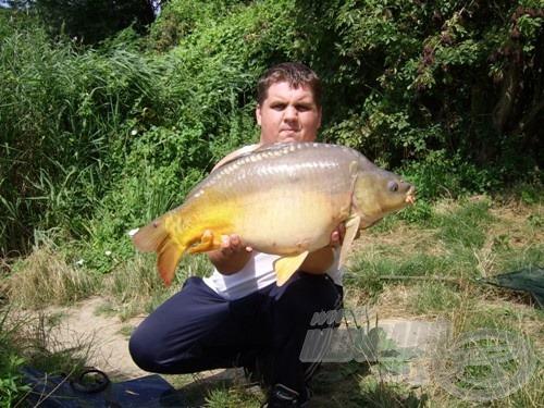 Az első termetesebb halam