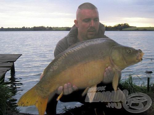 A túra hala, amely 14,8 kilót nyomott a mérlegen!