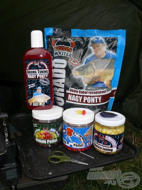 A Nagy Pontyos termékek a kis halsűrűségű tavakon is nagyon hatásosak!