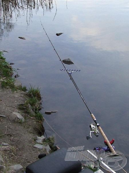 A picker már az első halat várja…