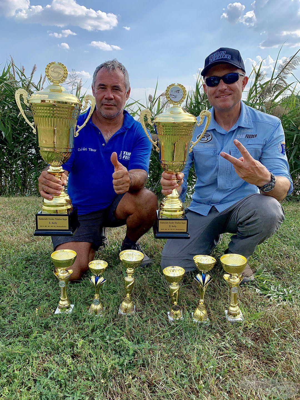 A versenyt Csővári Tibor nyerte, míg nekem a második helyet sikerült megszereznem