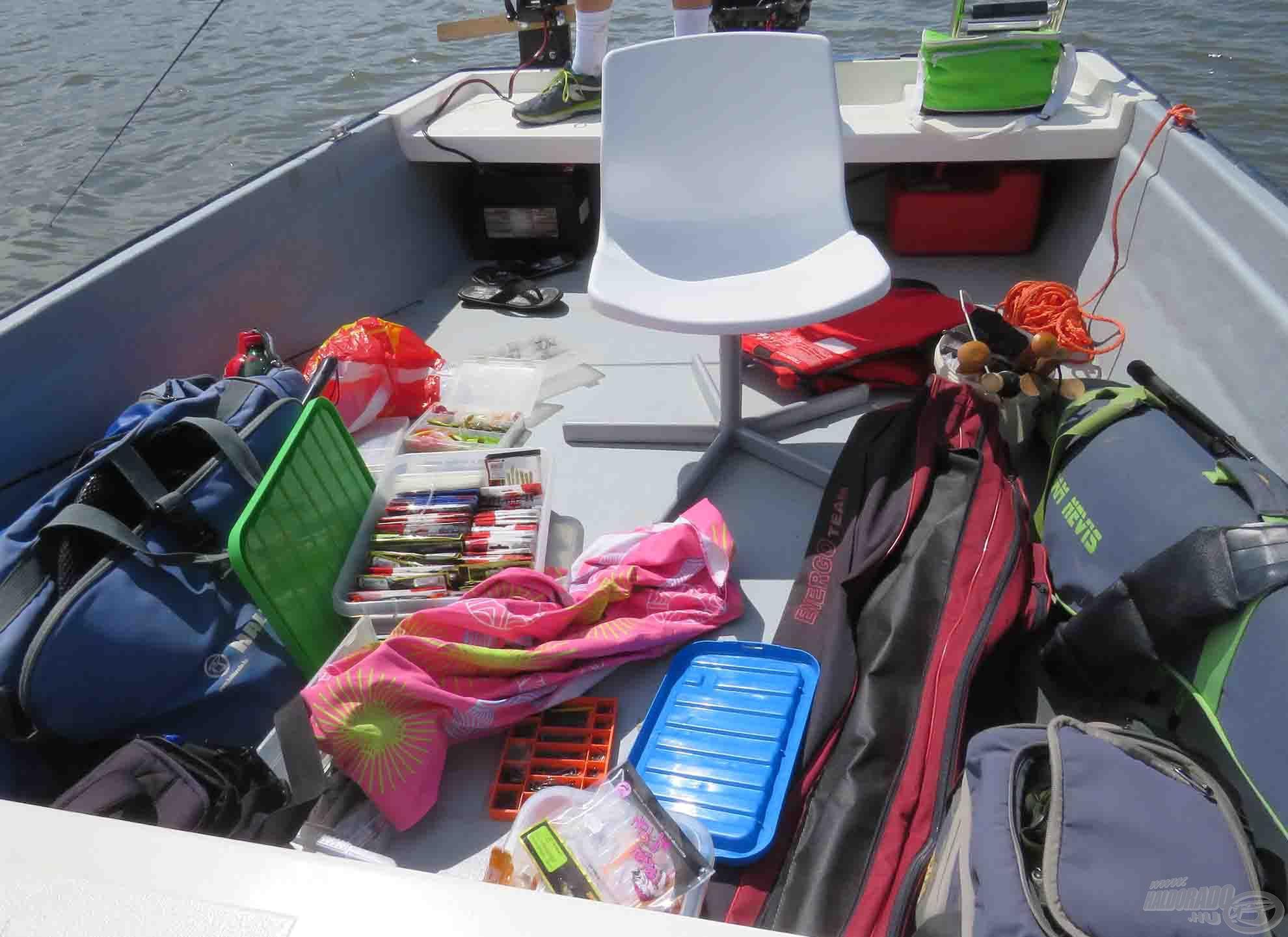 Káosz a pergető csónakban