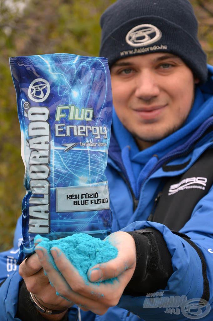 A Fluo Energy Kék Fúzió etetőanyag tökéletes kombinációja egy modern, extravagáns keveréknek, mely ugyanakkor maximálisan alkalmas az óvatos, termetes pontyok megfogására is!