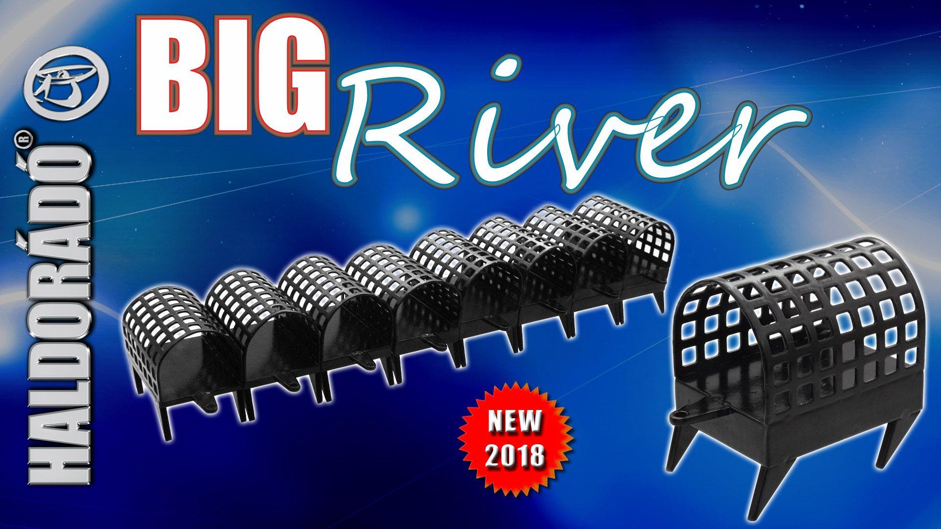 A Big River Feeder kosár az igazán gyors folyású helyek meghorgászására lett kifejlesztve