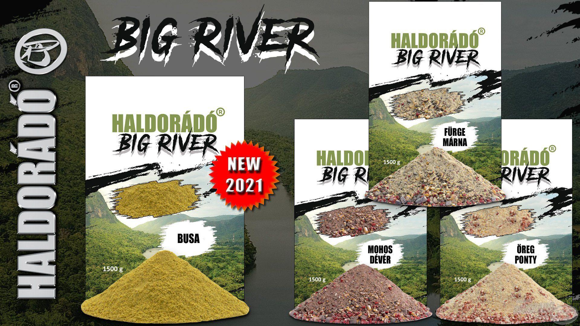 2021-től egy igazán különleges keverékkel, a Busa változattal is bővült a Big River paletta