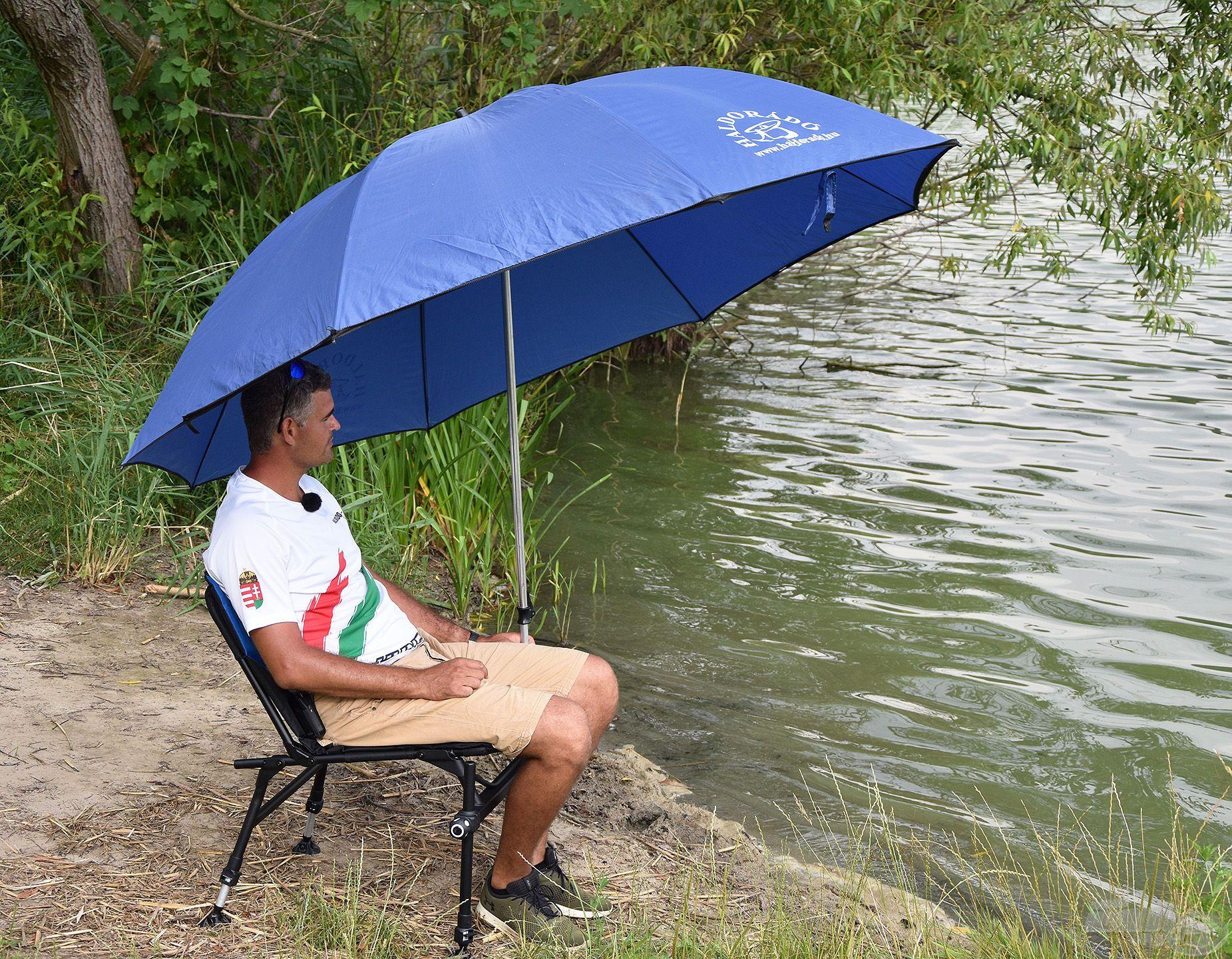 Stabil tartást biztosít a napernyőnek