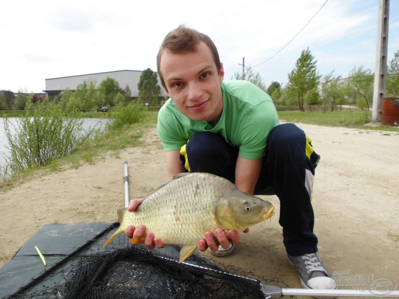 Meg is hozta az halat a klasszikus csalikombináció