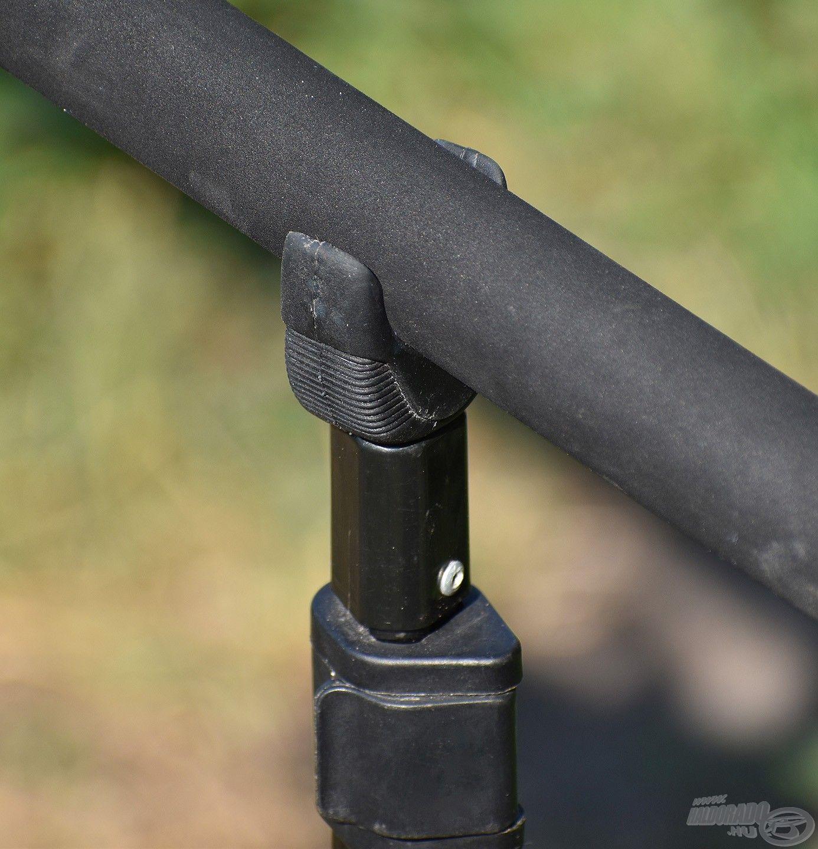 Szintén előnyös, ha van egy stabil hátsó bottartónk