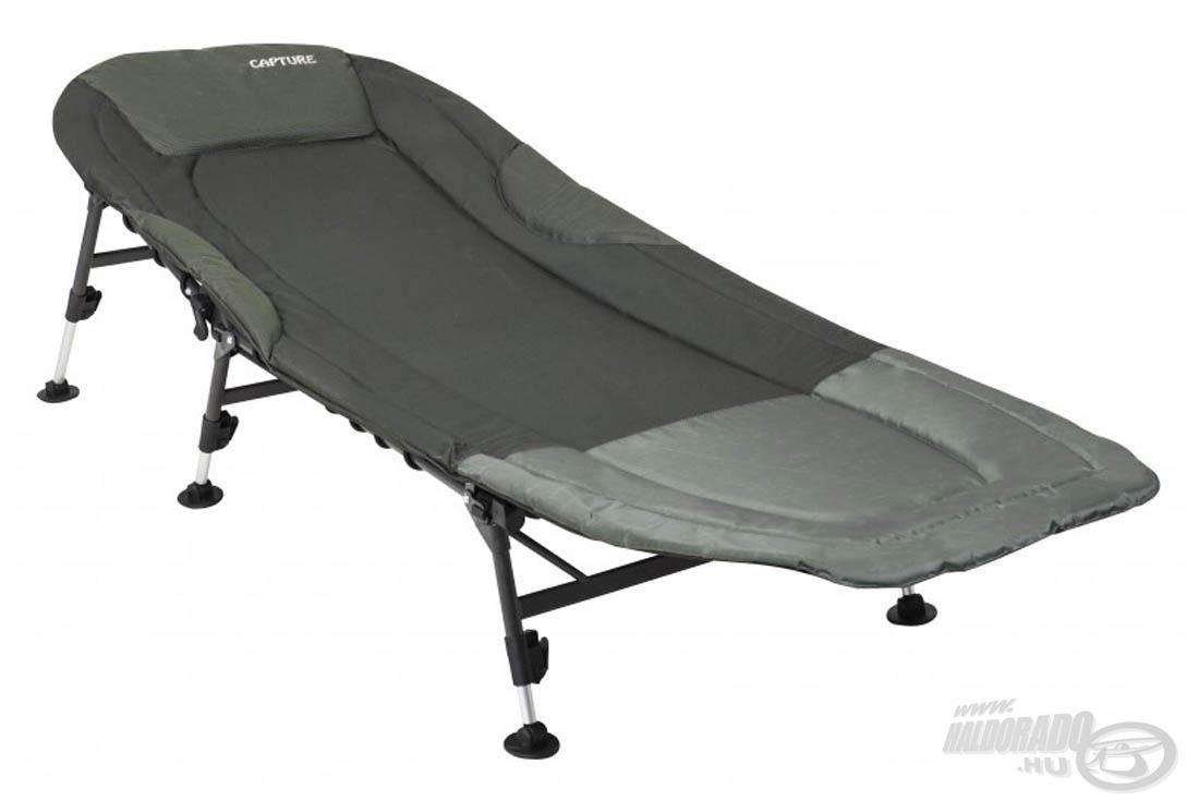 A Booster XK-60 ágy minden kényelmi igényt kielégít a vízparton, kiváló ár/érték arányú fekvőalkalmatosság