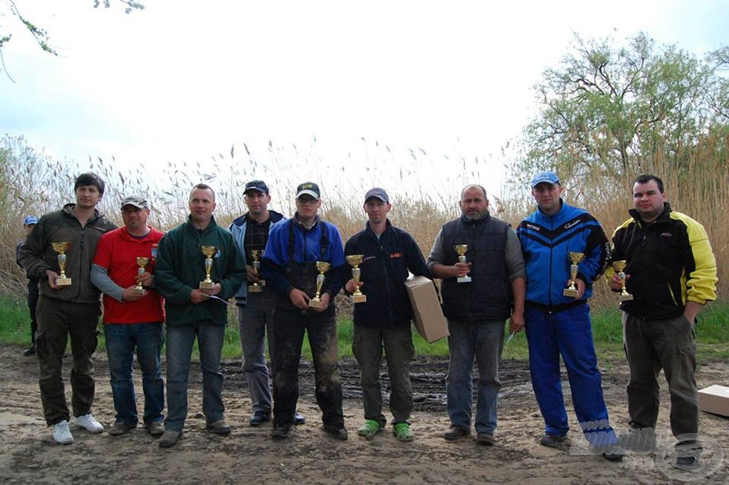 A győztesek! Minden szektorban az első 3 helyezettet díjazták